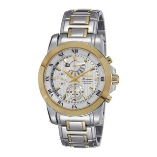 Seiko Men's SPC162P1 Premier White Watch