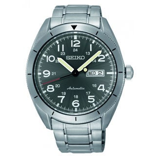 Seiko Men's SRP709K1 Automatic Black Watch