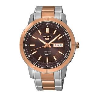 Seiko Men's SNKN60K1 5 Brown Watch