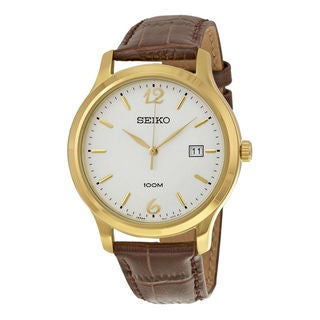 Seiko Men's SUR150P1 Classic White Watch