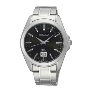 Seiko Men's SUR009P1 Classic Black Watch