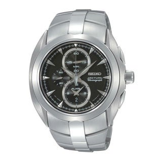Seiko Men's SNAC17P1 Arctura Black Watch