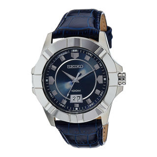 Seiko Men's SUR133P1 Lord Blue Watch