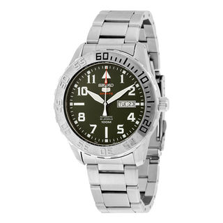 Seiko Men's SRP751K1 5 Sports Green Watch