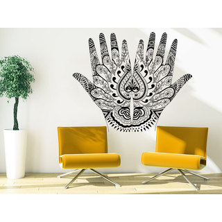 Shop Henna Mehndi Hands Arabic Bahraini Henna Wall Art