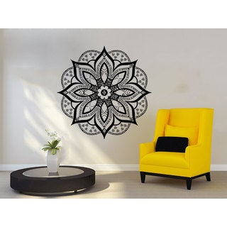 Mandala Hamsa Wall Art Sticker Decal