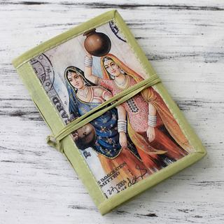 Handmade Paper 'Rajasthani Muses' Journal (India)