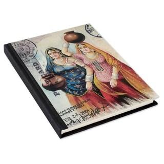 Handmade Paper 'Rajasthani Muses' Journal (India)