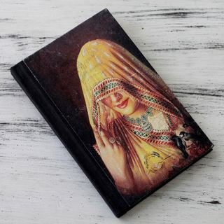 Handmade Paper 'Ghoonghat Muse' Journal (India)