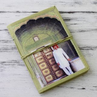 Handmade Paper 'Rajasthani Guard' Journal (India)