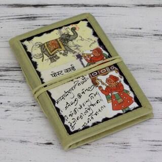 Handmade Paper 'Indian Elephant' Journal (India)