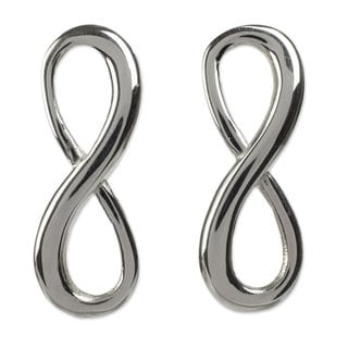 Handcrafted Sterling Silver 'Infinite Maya Harmony' Earrings (Mexico)