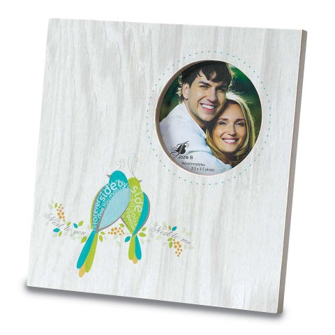 Versil Next To You Off-white 9-inch x 9-inch Photo Frame
