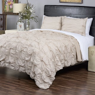 Sweet Dreams Cappuccino Collection 3-piece King Size Quilt Set by Arden Loft (As Is Item)