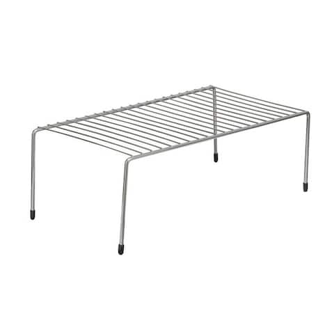 ClosetMaid White/Silver Stainless Steel Large Shelf