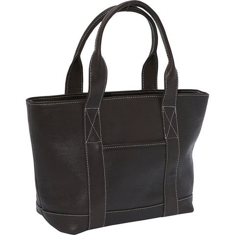 LeDonne Leather Double Strap Small Pocket Bag