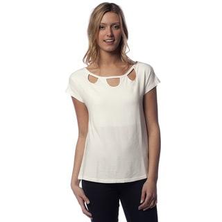 A to Z Women's Cotton Modal Loop T-shirt