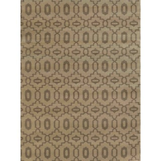 Admire Home Living Bronte Orb Beige Olefin Area Rug (7'10 x 10'6)