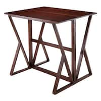 Harrington Drop Leaf High Table - Walnut - N/A
