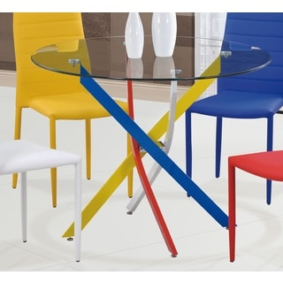 Global Furniture Metal Dining Table