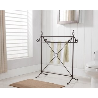 K and B 1416 Bronze Metal Towel Rack