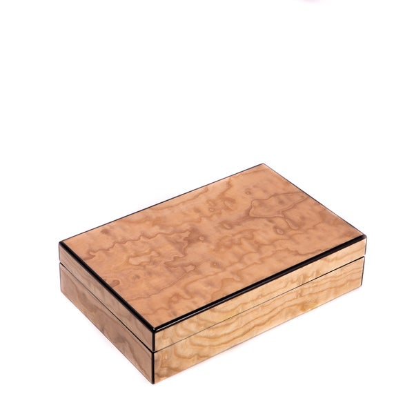 Lacquered Wood Valet Box