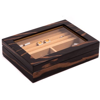 Lacquer Wood Valet Box
