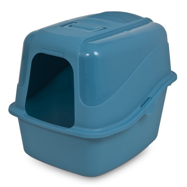 Petmate Kitty Komplete Litter Box with Microban