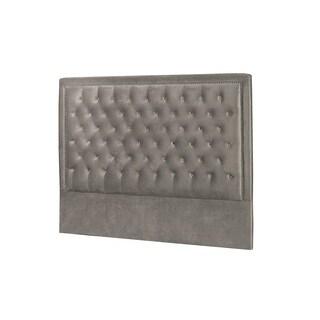 Niobe Grey Satin Velvet Bed