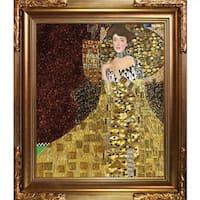 Klimt 'Portrait of Adele Bloch Bauer I' Hand Painted Oil Reproduction