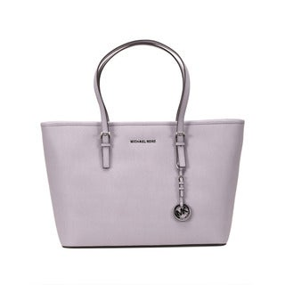 Michaell Kors Lilac Jet Set Travel Medium Multi Function Tote Bag