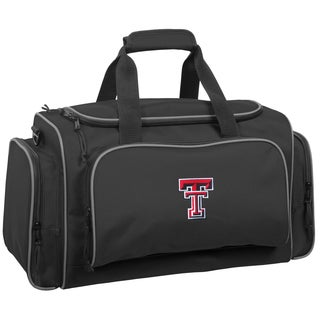 Wally Bags Texas Tech Red Raiders Black Polyester 21-inch Collegiate Duffel Bag