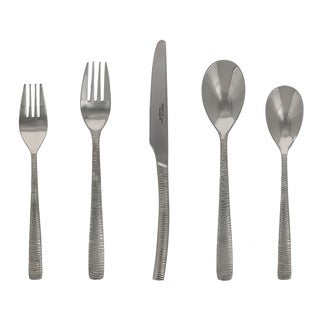 Le Brun Stainless Steel Zebra Design 20-piece Cutlery Set (Service for 4)