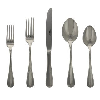 French Home Le Brun Oceanie Silver Stainless Steel 4-place Cutlery Set (Case of 20)