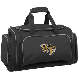 WallyBags 21-inch Wake Forest Demon Deacons Collegiate Duffel Bag