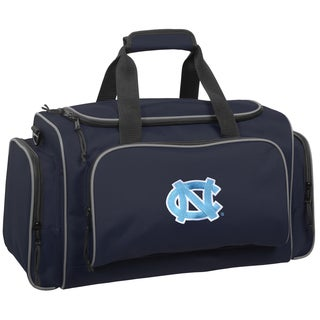 Wally Bags North Carolina Tar Heels Blue Polyester 21-inch Collegiate Duffel Bag