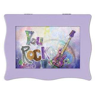 Versil 'You Rock' Purple Music Box