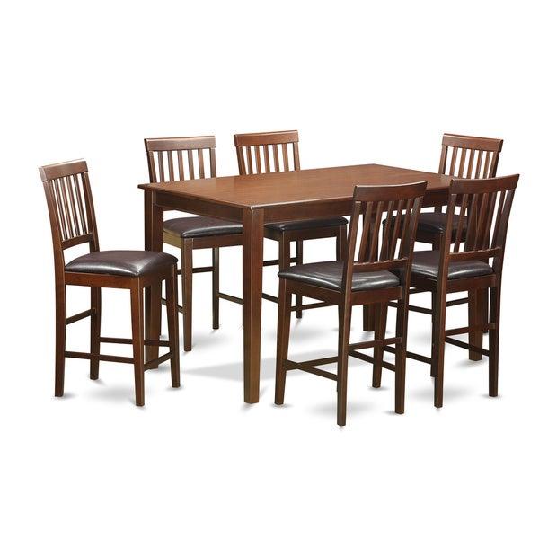Duvn7h Mah 7 Piece Counter Height Dining Set Free