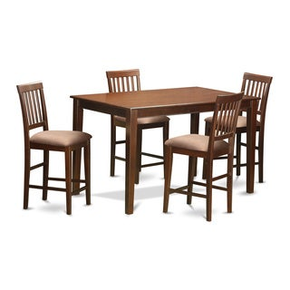 DUVN5H-MAH 5-piece Counter Height Table Set
