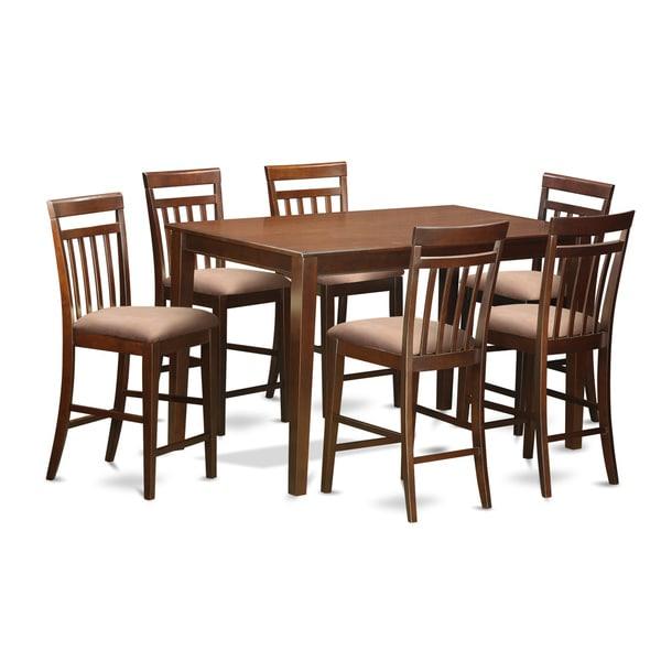 Delicieux DUEW7H MAH 7 Piece Pub Table Set