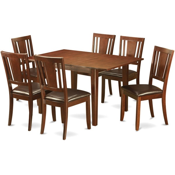 Shop East West Furniture Picasso Mahogany Rubberwood