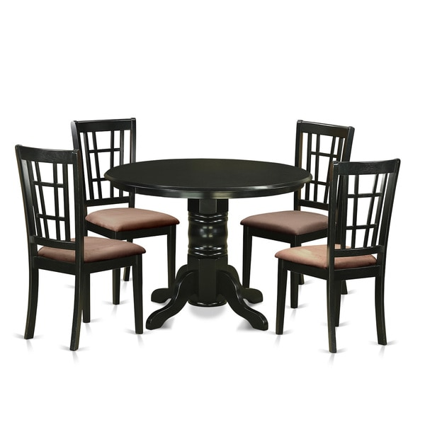 9 Piece Dining Room Table Sets: Shop SHNI5-BLK 5-piece Dining Table Set