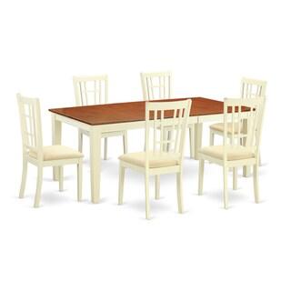 QUNI7-WHI 7-piece Dinette Set