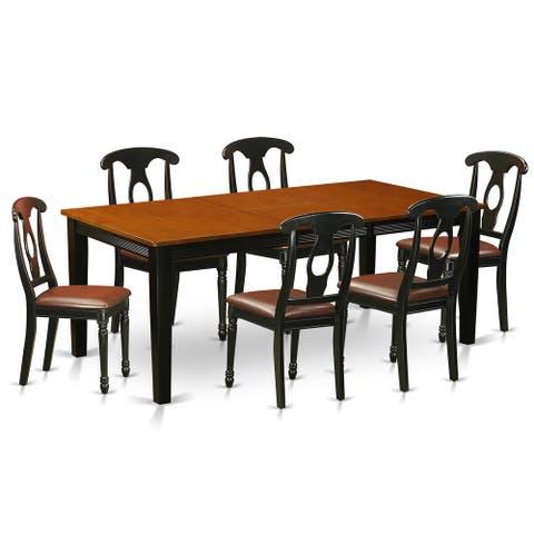 QUKE7-BCH 7-piece Dining Set