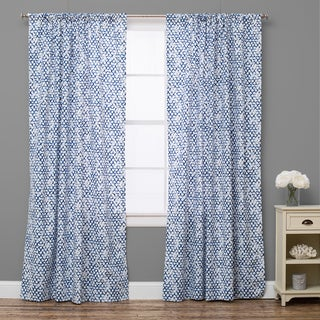 Pebble Breezy Lapis Curtain Panel