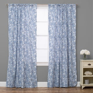 Pebble Breezy Lapis Curtain Panel (4 options available)