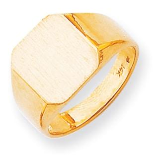 Versil 14k Solid Men's Signet Ring