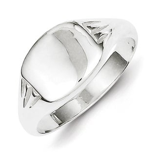 Versil Sterling Silver Square Signet Ring