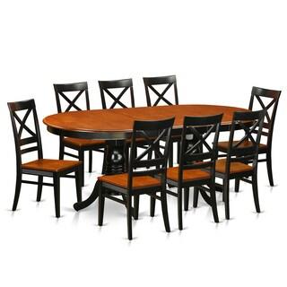 PLQU9-W 9-piece Dining Set