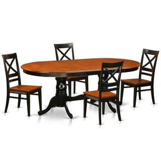 PLQU5-W 5-piece Dining Room Set